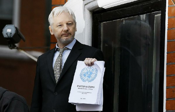 Assange continues to hide in embassy following United Nations ruling