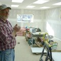 Contractor Buddy Shute is working on an expansion for the Kingston Community Library, which official...