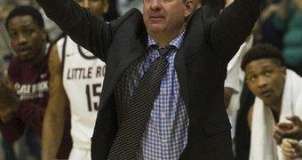 UALR coach Chris ...