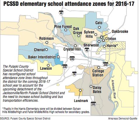 County District Unveils Attendance Zone Redo