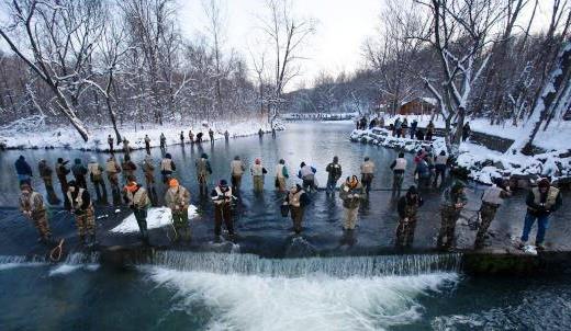 Missouri catch, keep trout season near