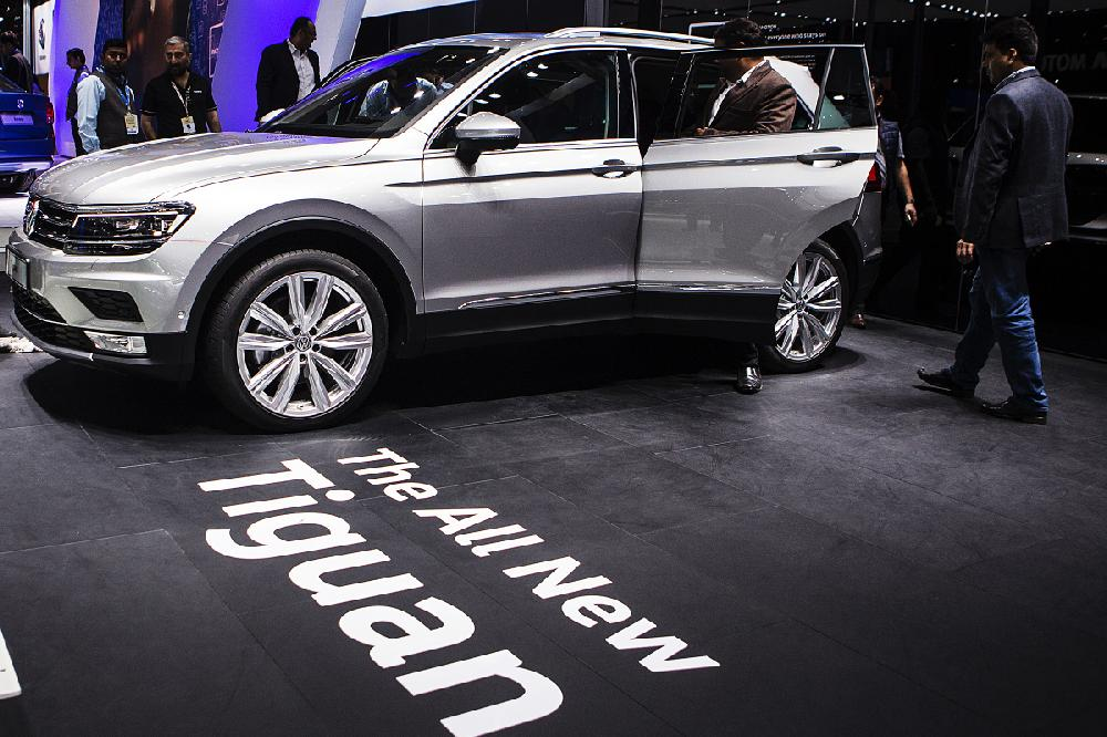 Volkswagen Displays Its 2016 Crossover Sport Utility