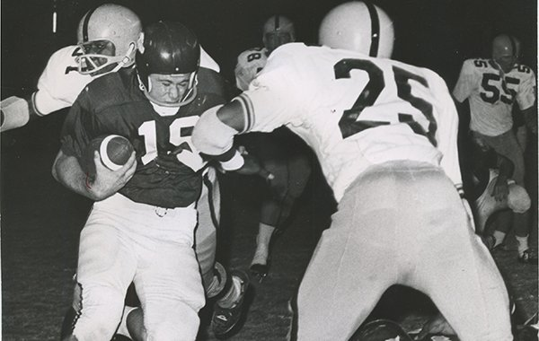 Fred Marshall was quarterback for Arkansas' national championship team in 1964.
