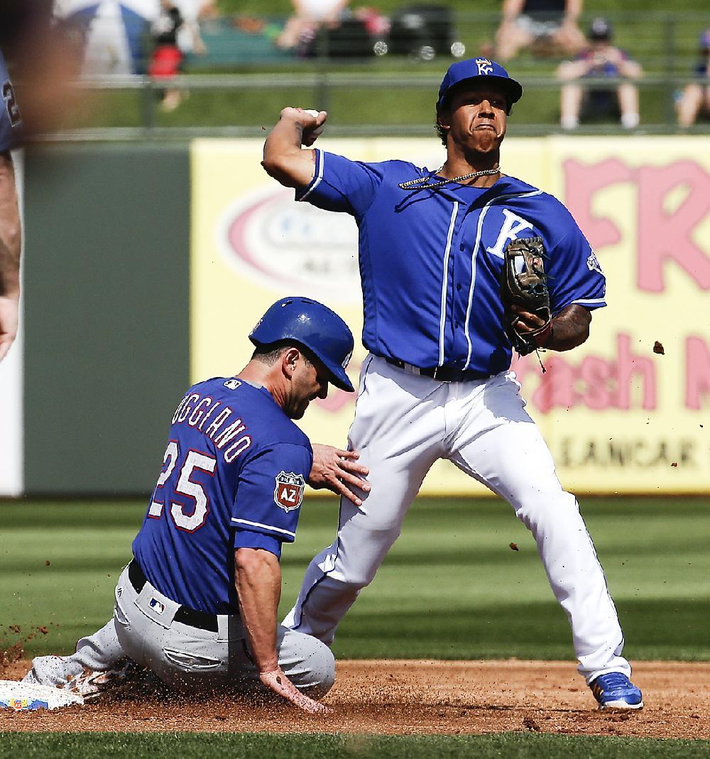 Kansas City Shortstop Raul Mondesi Jr. Forces Texas