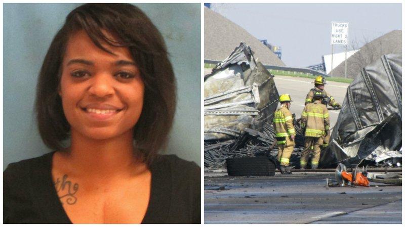 Little Rock woman gets 8 years in fiery death of trucker  Little Rock wom...