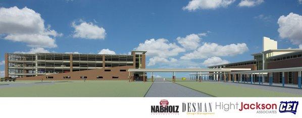 Northwest arkansas regional airport getting parking deck for Deck builders fayetteville ar