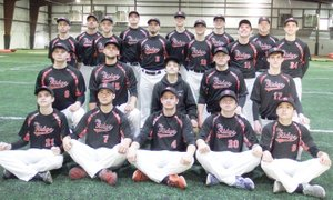 TIMES photograph by Annette Beard The Pea Ridge Blackhawk Baseball for 2016 team is comprised of Zaine Holley, Chandler Tidwell, Brandt Carr, A.J. Anderson, Jakota Sainsbury, Tyler Odell, Garrett King, Cole Wright, Westin Church, Hunter Gaston, Eric Hankins, Carson Rhine, Bryce Beckman, Gage Cawthon, Hayden Holtgrewe, Corbin Anderson, Will Feemster and Landon Allison. Statisticians are Ethan Burton and Peyton Losey. John King is head coach, Matt Easterling is assistant coach.