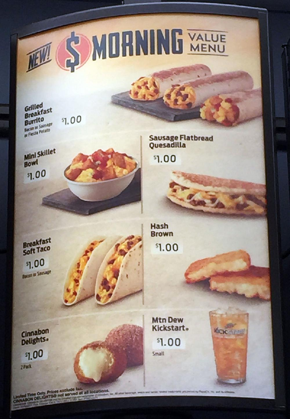 REVIEW: Taco Bell's breakfast bang for buck | NWADG | 1000 x 1445 jpeg 150kB