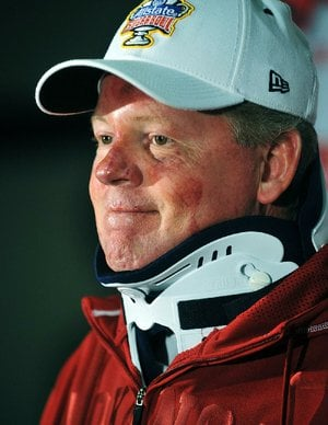 Former University of Arkansas coach Bobby Petrino is shown in this 2012 file photo.
