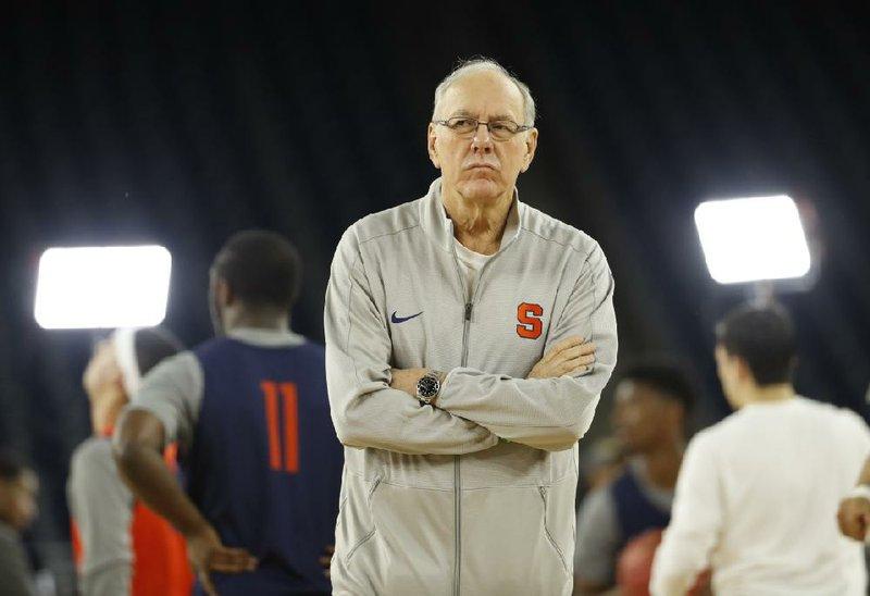 Syracuse Men S Basketball Coach Jim Boeheim Strikes Kills