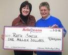 $1 million+ Arkansas lottery winners