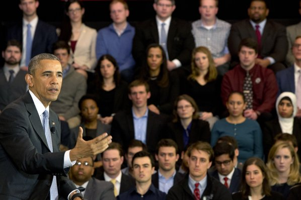Watch US President Speak At University Of Chicago Law School