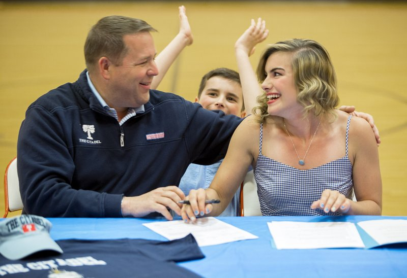 Gravette's Neeley chooses The Citadel