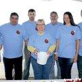 Pam McPherson (from left), Chris Calleja, Chris Ingram, Darlene Harrell, Mike Gilbert, Tiffany Dixon...