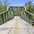 The old bridge is a safety issue, in particular, because it's so narrow, said Steve Lawrence, distri...