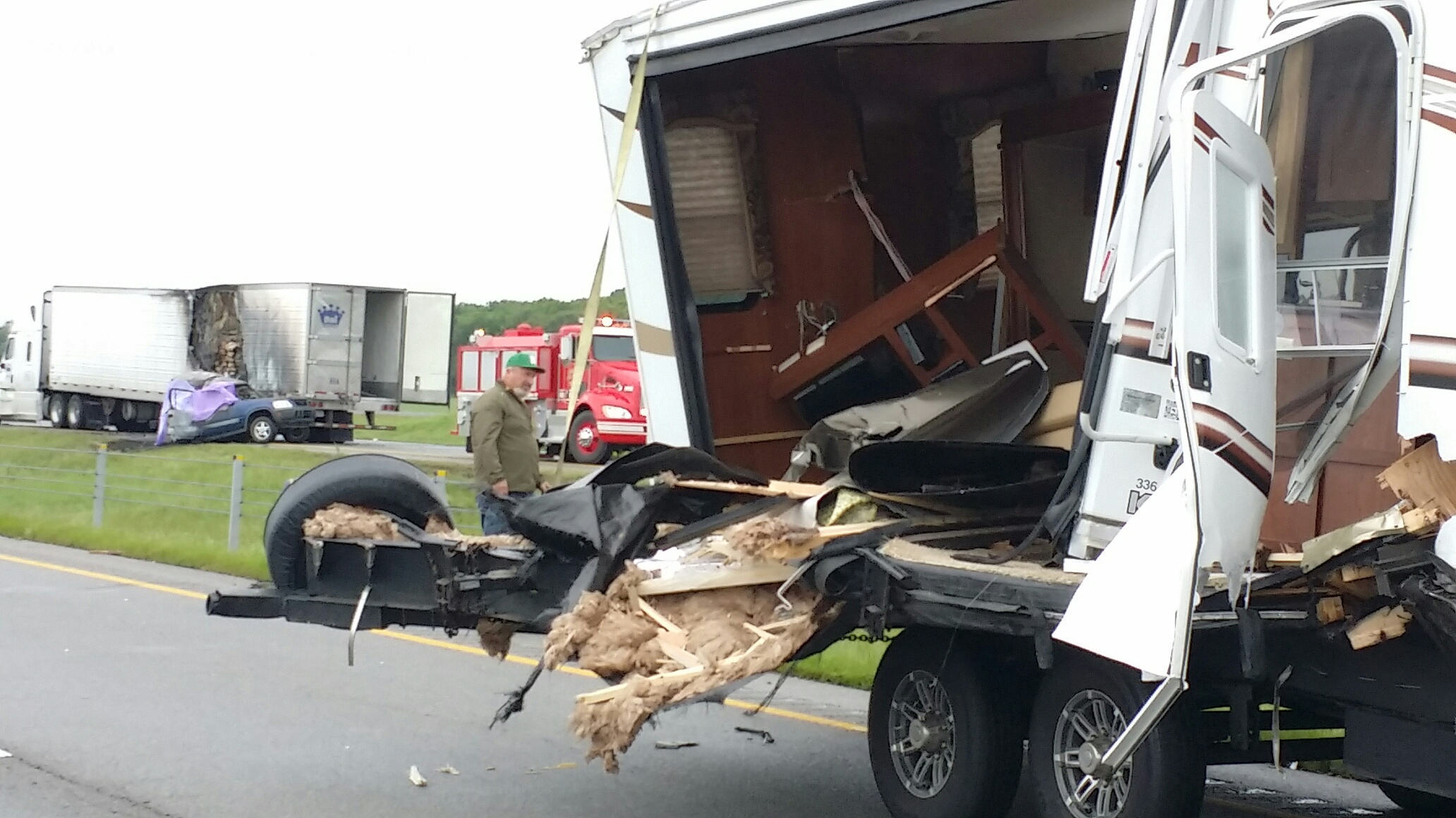 I-40 westbound lanes reopened hours after fatal crash