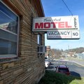 The Twin Arch Motel on College Avenue in Fayetteville. Under the plan before the Planning Commission...