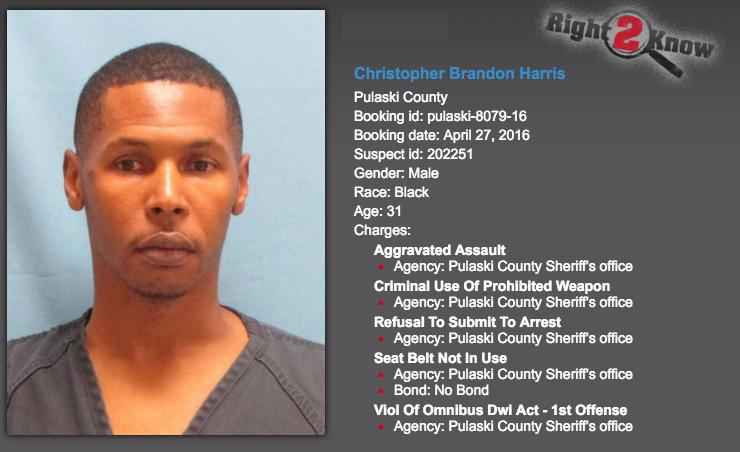 Police: Arkansas parole officer arrested after pointing gun