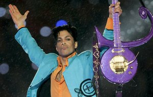 Super Bowl XLI fans got a rousing show by Prince at halftime on Feb. 4, 2007.