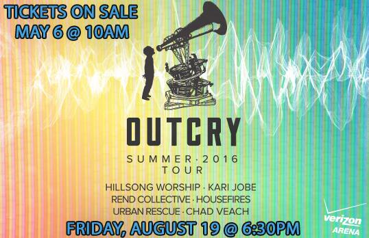 Outcry Tour August