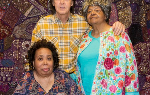 "Paul McCartney met two members of the Little Rock Nine after his performance Friday at Verizon Arena. During the show, McCartney revealed that civil rights events in Little Rock inspired The Beatles song ""Blackbird."""