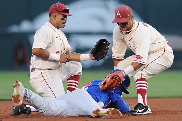 Double-play duo meshes for Hogs | NWADG