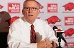 Jeff Long, athletics director for the University of Arkansas, is shown in this file photo.