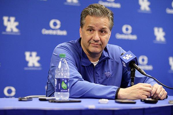 Calipari Says He'll Retire At Kentucky