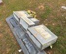 Vandals damage Grant County graveyard