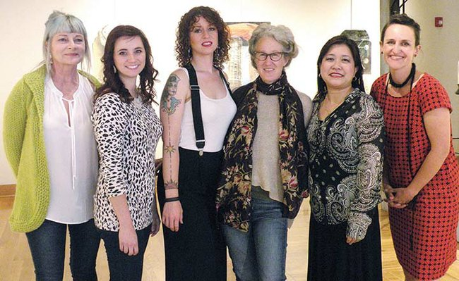Female Artists Join Collective Show Works In Little Rock