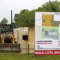 Early construction has begun on a new housing development, Maple Estates, on Tuesday on Gamble Road ...