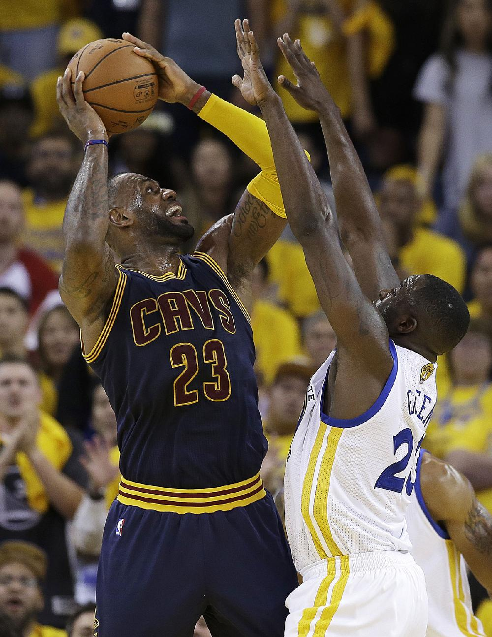 LeBron James (23) knows tonight's Game 3 of the NBA ...
