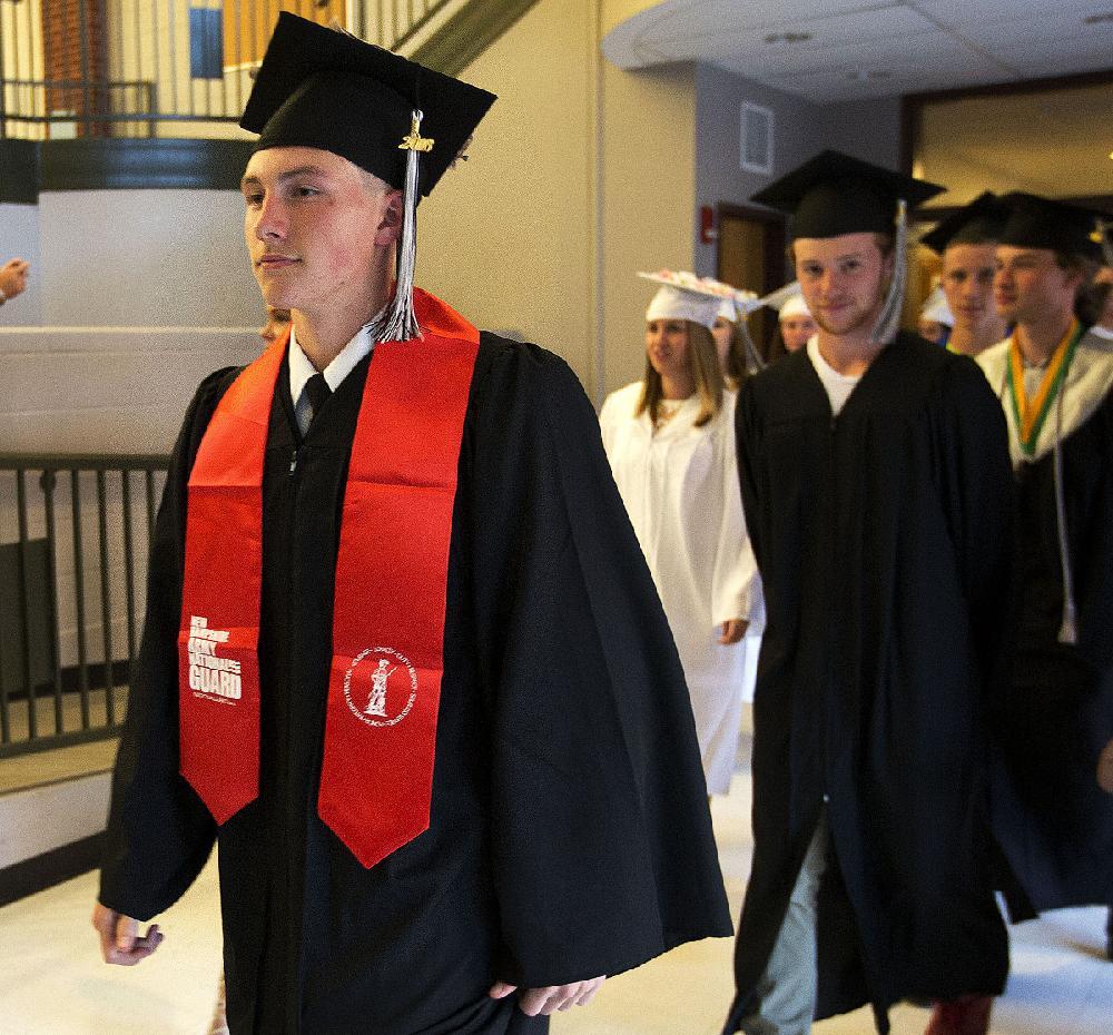 N.H. joins few, lets grads wear military uniforms