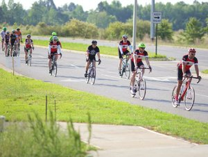 Bike ride, MYAC Saline County