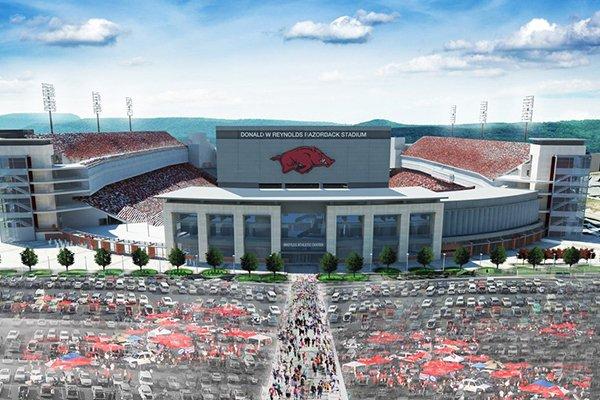 Ua Trustees Approve 160m Razorback Stadium Expansion