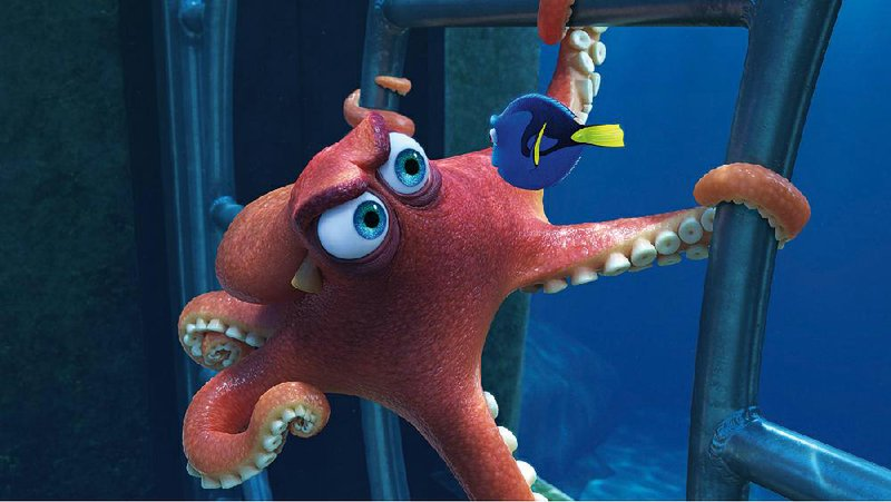 Movie Review Same Fish Story Different Tank In Finding Dory