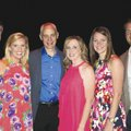 Andrew Murry (from left), Meaghan Keenan, Jim St. John, Emily Martin, Amanda Foreman and Mark Kelly ...
