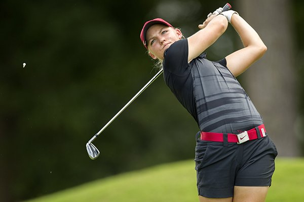 arkansas-golfer-alana-uriell-hits-from-the-third-tee-box-on-monday-june-20-2016-during-the-walmart-nw-arkansas-championship-qualifying-round-at-pinnacle-country-club-in-rogers