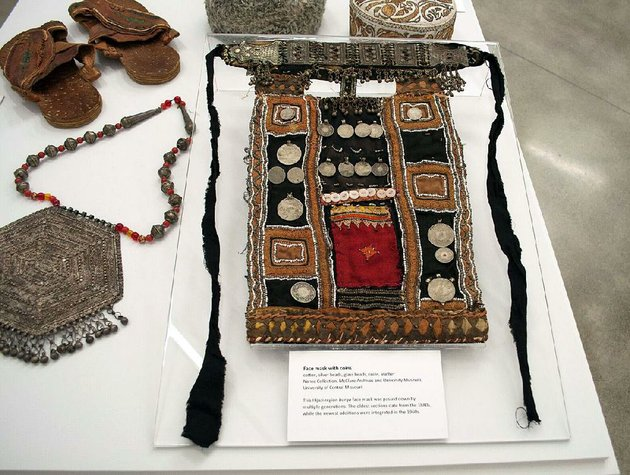 traditional-arts-of-the-bedouin-including-this-mask-with-coins-and-beads-is-on-display-through-aug-5-at-the-university-of-arkansas-at-little-rocks-galleries-2801-s-university-ave-admission-is-free-hours-are-10-am-4-pm-monday-friday-call-501-569-8977