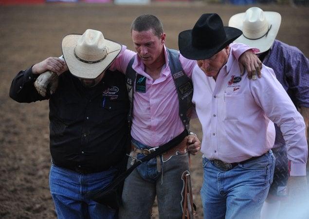 Cowboy Tough Head Injuries Part Of It Cowboys Say Nwadg