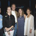 Brian Crowne (from left), Jennifer Ross, Neal Pendergraft, Sarah Ann Pendergraft, Gina Pendergraft a...