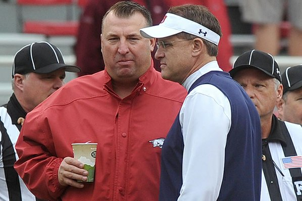 Arkansas' Bielema has become wit of SEC