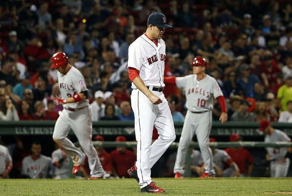 Watch the Angels hang 21 runs on the Red Sox