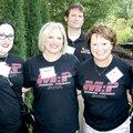 Stephanie Weston-Rhodes (from left), Haylee Pierce, Chris Neyland, Betsy Kinkade, Mathi as Elementar...