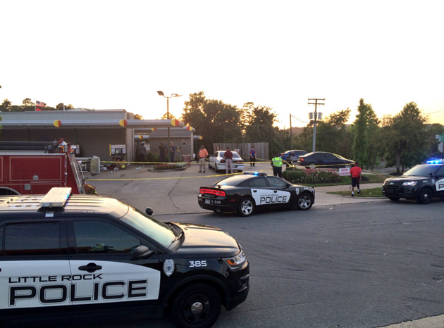 police-investigate-a-shooting-at-a-little-rock-sonic-drive-in-wednesday-night