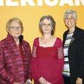 Anne-Imelda Radice, American Folk Art Museum director, (from left), Stacy Hollander, American Folk A...