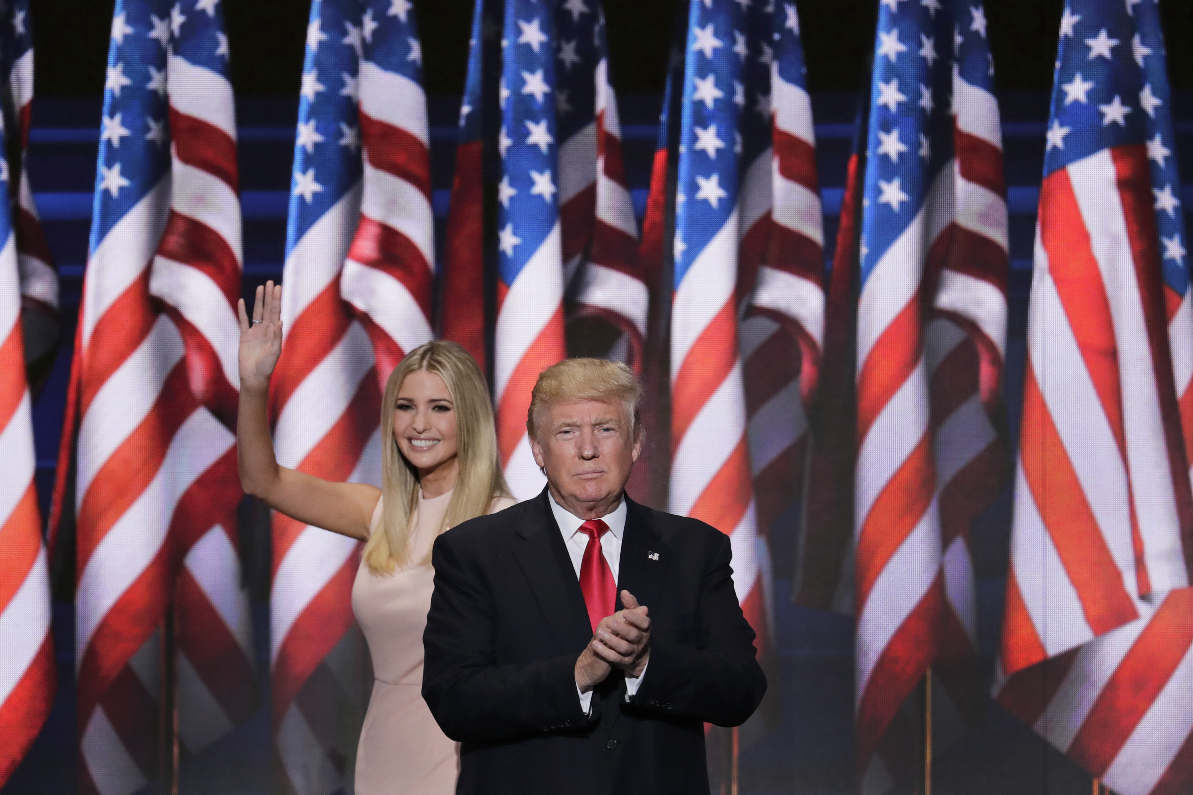 Ivanka Trump, daughter of Republican Presidential Nominee Donald J ... Ivanka Trump