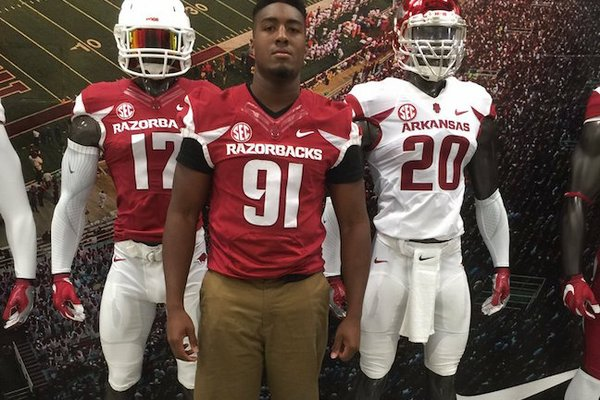 Wholehogsports Arkansas Officially Adds Taylor To Its 2016 Roster