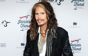 "In this May 2, 2016 file photo, Steven Tyler appears at ""Steven Tyler…OUT ON A LIMB"" event in New York."