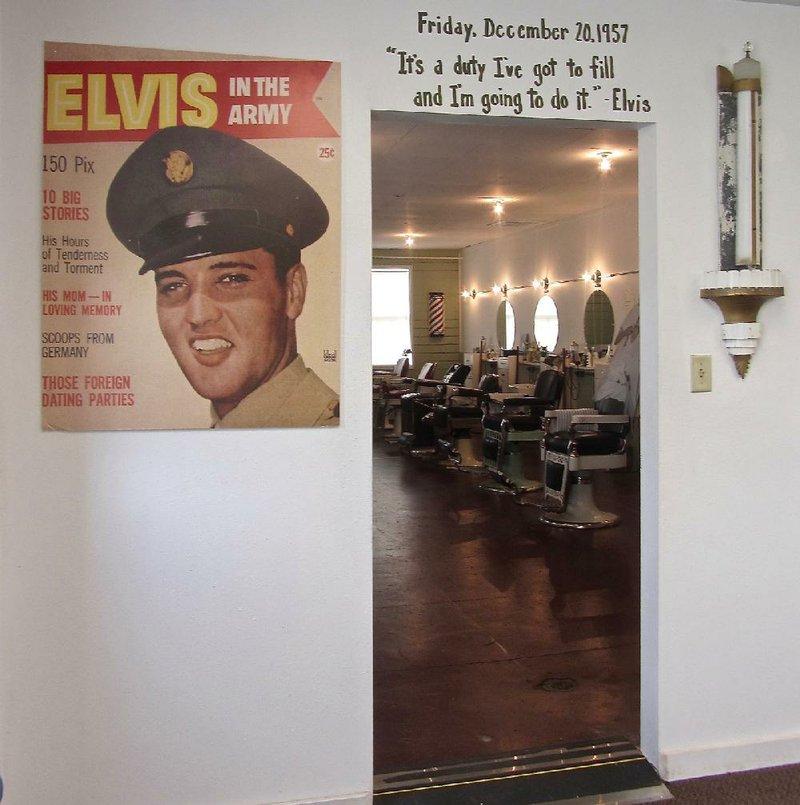Elvis Haircut Shear History At Chaffee Museum